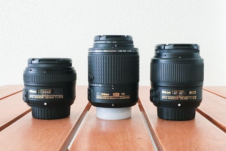 AF-S DX NIKKOR 55-200mm f/4-5.6G ED VR IIと単焦点レンズ