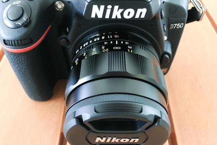NOKTON 58mm F1.4 SLII NとNikon D750