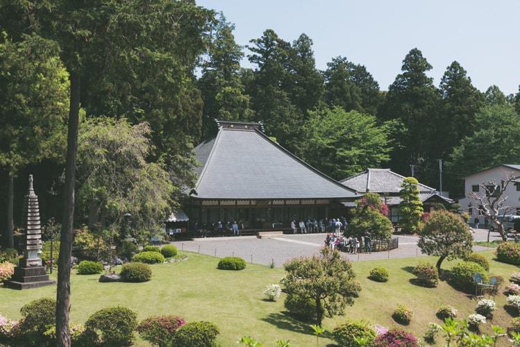 東京青梅 七国山薬王寺 本堂