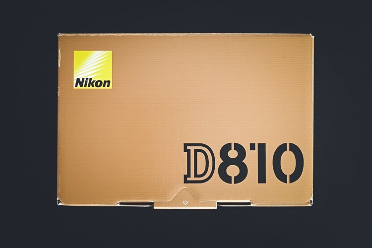 Nikon D810 化粧箱