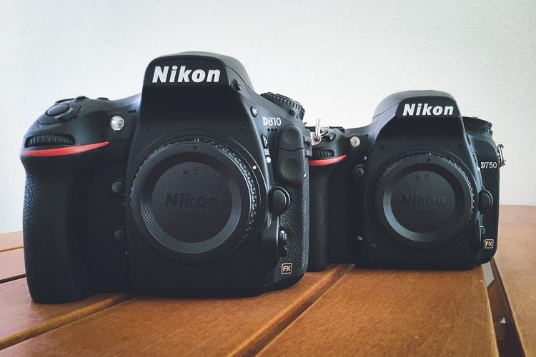 Nikon D810とD750