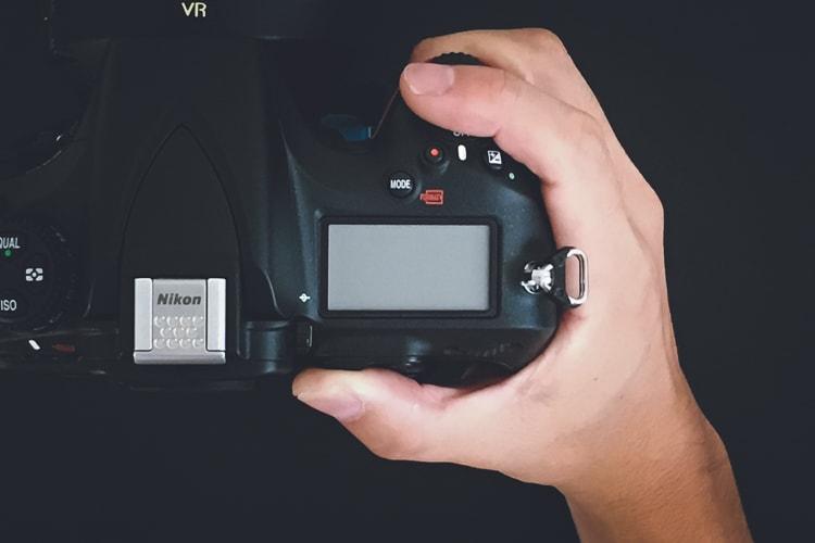 Nikon D810 グリップ感