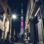 東京スカイツリーの夜景写真をLightroom現像してみた