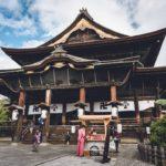 信州善光寺へ紅葉を味わいながら念仏するために訪れてみた
