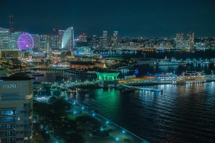 マリンタワー 夜景