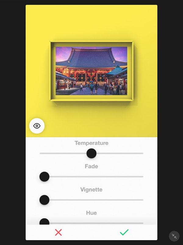 VOUNアプリ
