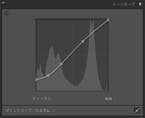 Lightroom Classic 現像 ハイライト-100 シャドウ+100 夕景