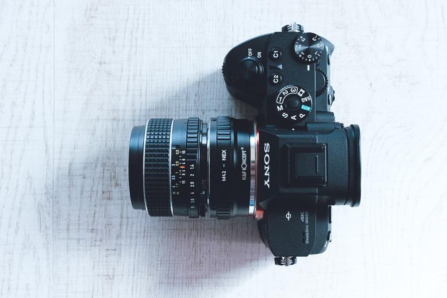 α7R III K&F Concept M42-NEX SMC takumar 50mm f1.4