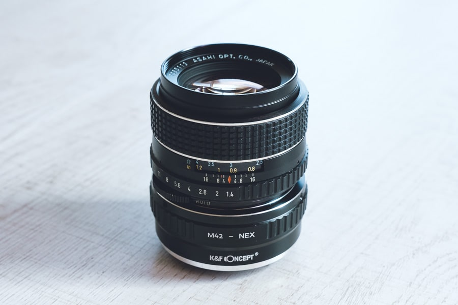 K&F Concept M42-NEX SMC takumar 50mm f1.4