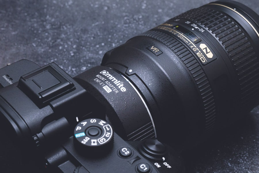 Commlite CM-ENF-E1 PRO α7R III AF-S NIKKOR 24-120mm f/4G ED VR