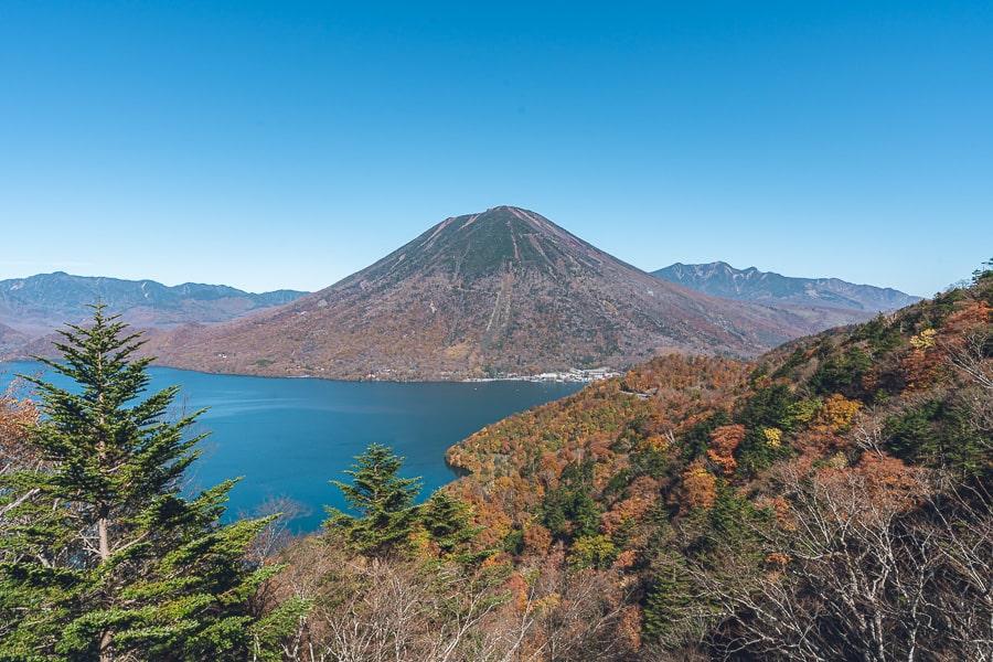 中禅寺湖展望台 紅葉