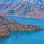 天空の湖と呼ばれる中禅寺湖と男体山周辺の紅葉をのんびり撮影してきた