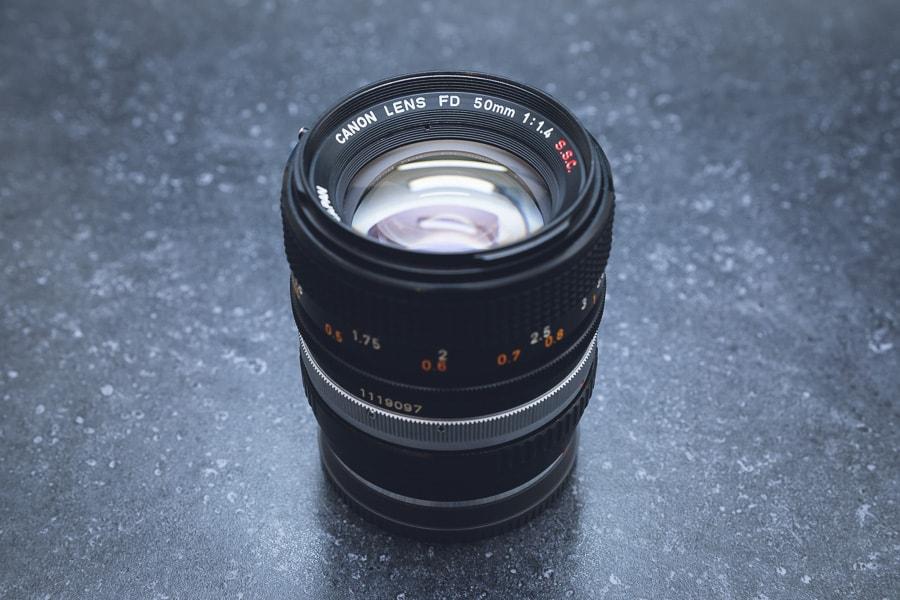 キヤノンFD 50mm F1.4 S.S.C