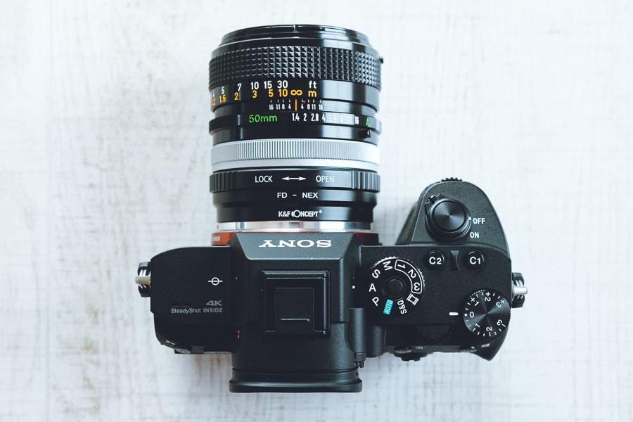 FD 50mm F1.4 S.S.C