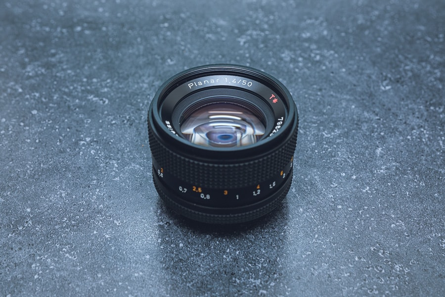 ContaxCarl ZeissPlanar 50mm f1.4 MMJ