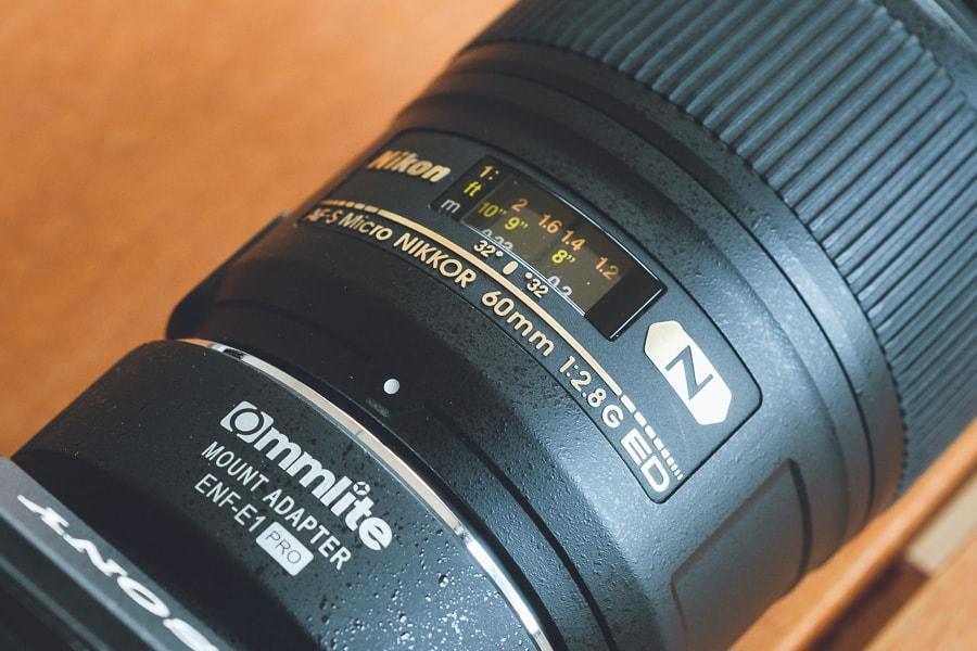 AF-S Micro NIKKOR 60mm f/2.8G ED 紫陽花撮影
