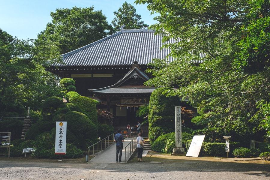 多古日本寺 紫陽花