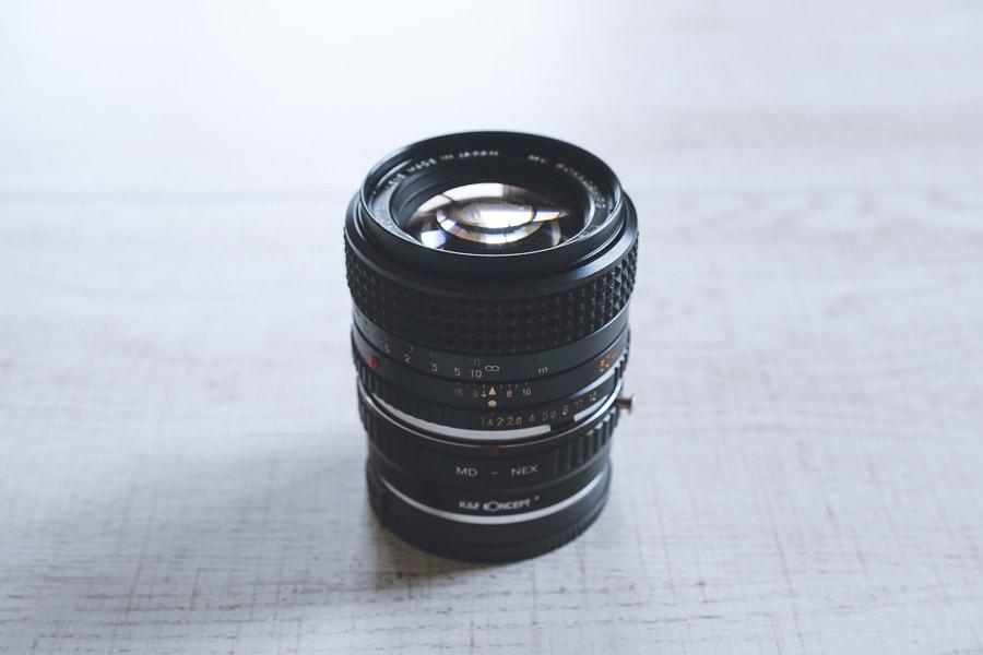 ミノルタMC ROKKOR-PG 50mm f1.4