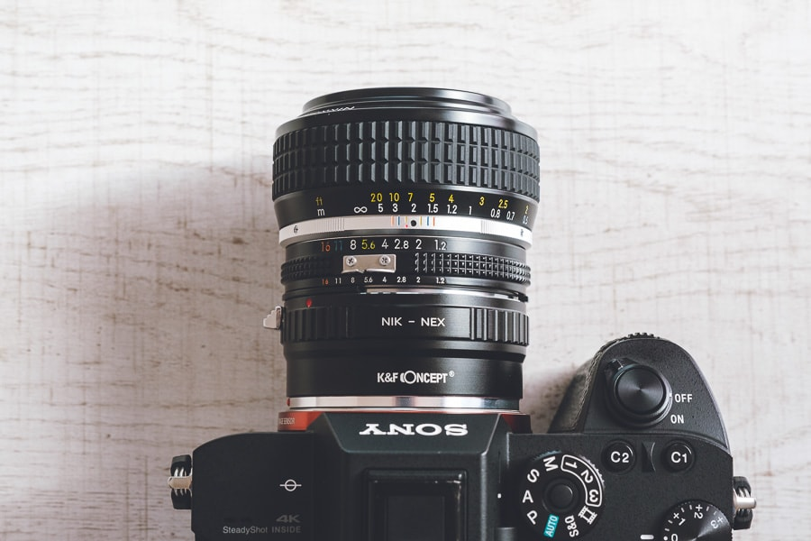 ニコン Ai Nikkor 50mm f/1.2S
