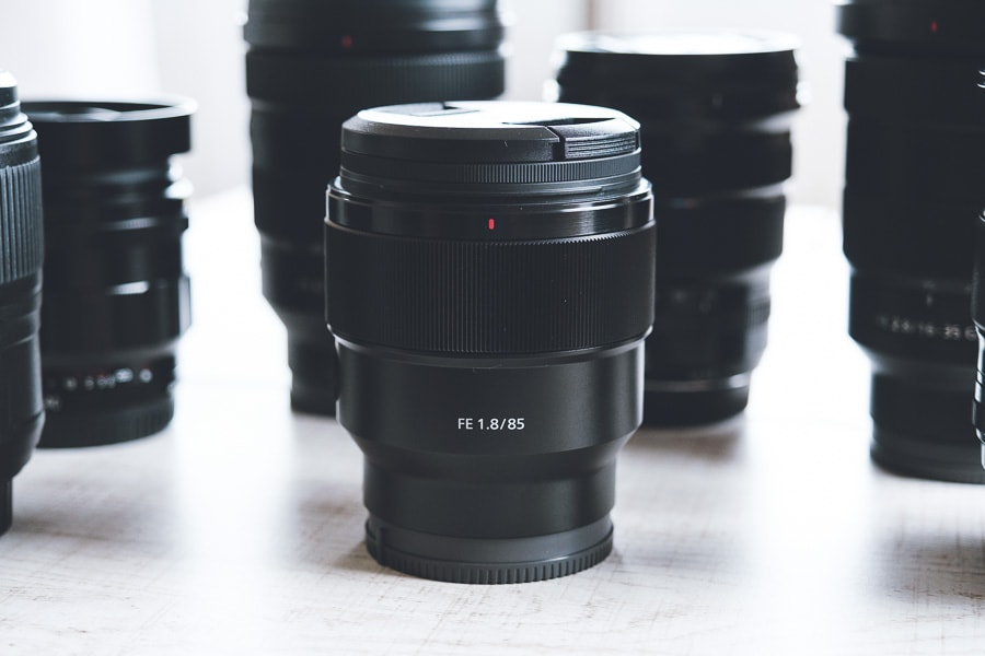 SEL85F18 単焦点レンズ 焦点距離85mm
