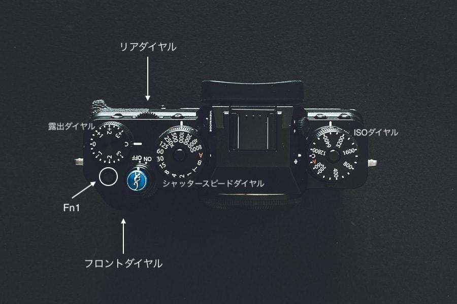 X-T4 ファンクション設定 コマンドダイヤル設定