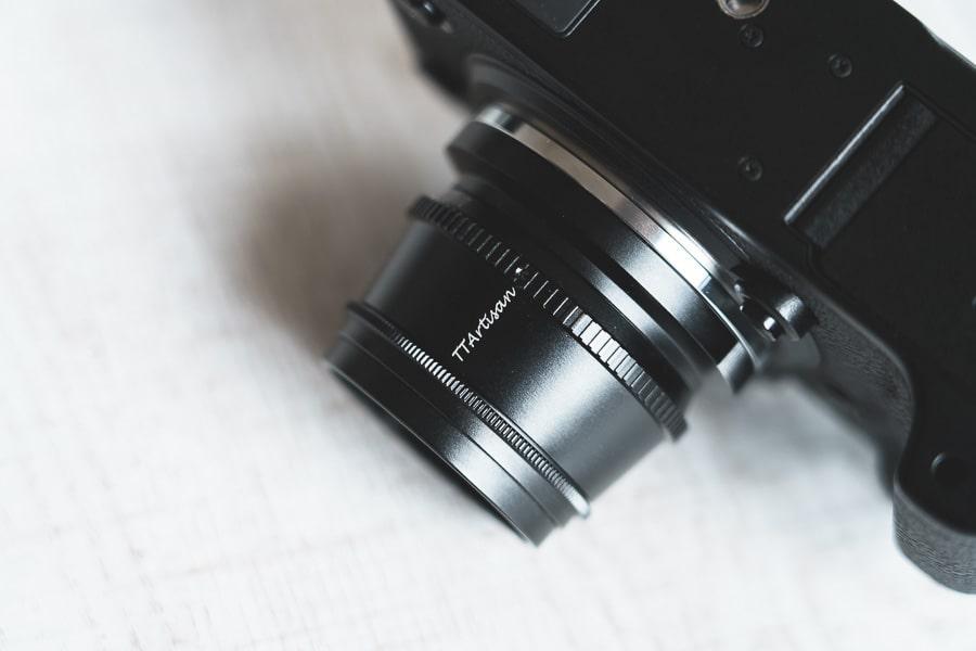 銘匠光学 TTartisan 35mm F1.4 C 富士フイルム X-T4