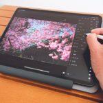 iPadで写真現像するのに見やすく快適にするためにタブレットスタンドを購入してみた【Parblo PR110】